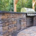 Grilling in a Outdoor Kitchen