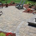 Intersecting Paver Patios