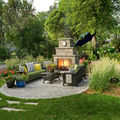 Landscaping Around Your Fireplace