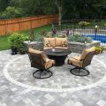 Circlestone & Cobblestone patio by the pool