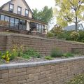Erosion Control Using Retaining Wall Units