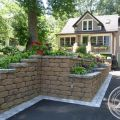 Retaining Walls Create Usable Yard Space