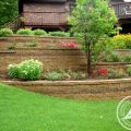 Tiered, Multi-Level Retaining Walls